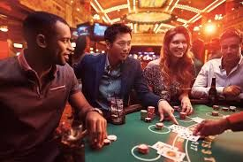 playing poker for real money