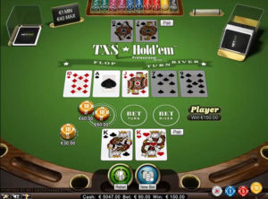play texas holdem online for real money